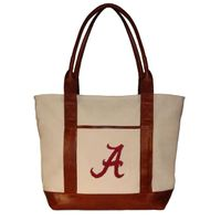 Alabama Needlepoint Tote
