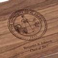 University of Alabama Solid Walnut Desk Box - Image 3