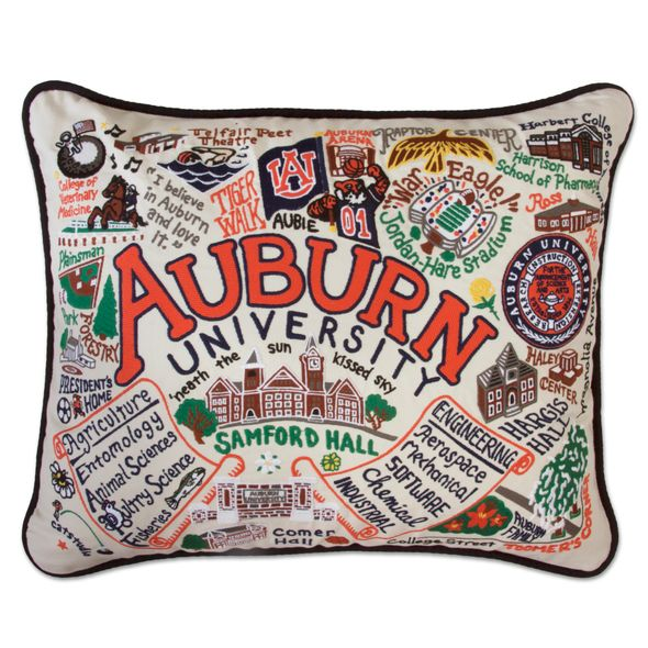 Auburn Embroidered Pillow