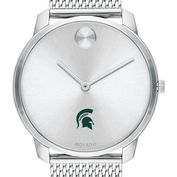 Michigan State University Men's Movado Stainless Bold 42