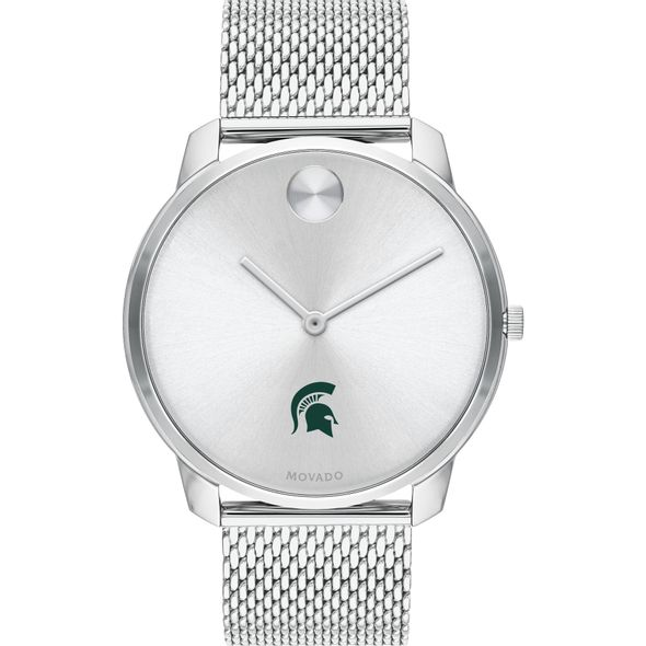 Michigan State University Men's Movado Stainless Bold 42 - Image 2