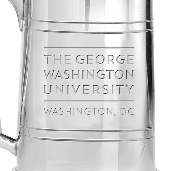 George Washington Pewter Stein - Image 2