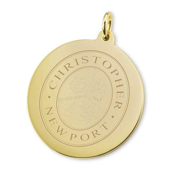 Christopher Newport University 18K Gold Charm