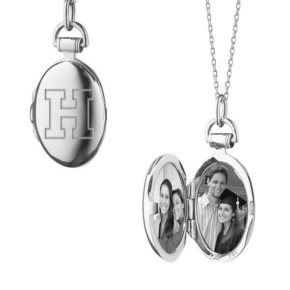 Harvard Monica Rich Kosann Petite Locket in Silver - Image 2