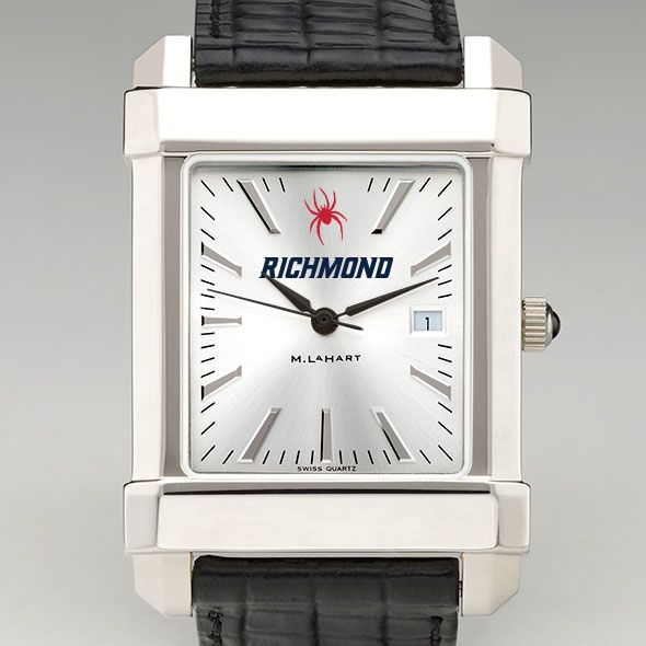 University of Richmond Men's Collegiate Watch with Leather Strap