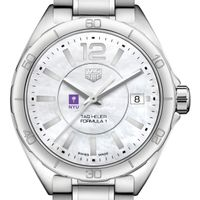 New York University Women's TAG Heuer Formula 1 with MOP Dial
