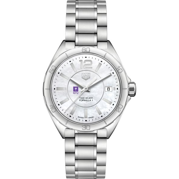 New York University Women's TAG Heuer Formula 1 with MOP Dial - Image 2