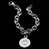 Boston College Sterling Silver Charm Bracelet