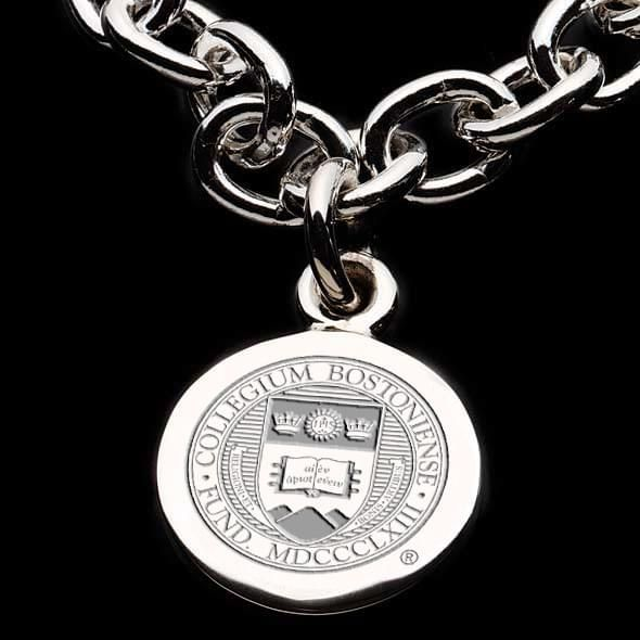 Boston College Sterling Silver Charm Bracelet - Image 2