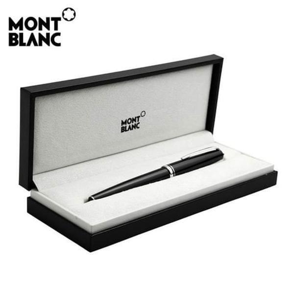 St. John's University Montblanc Meisterstück Midsize Ballpoint Pen in Platinum - Image 5
