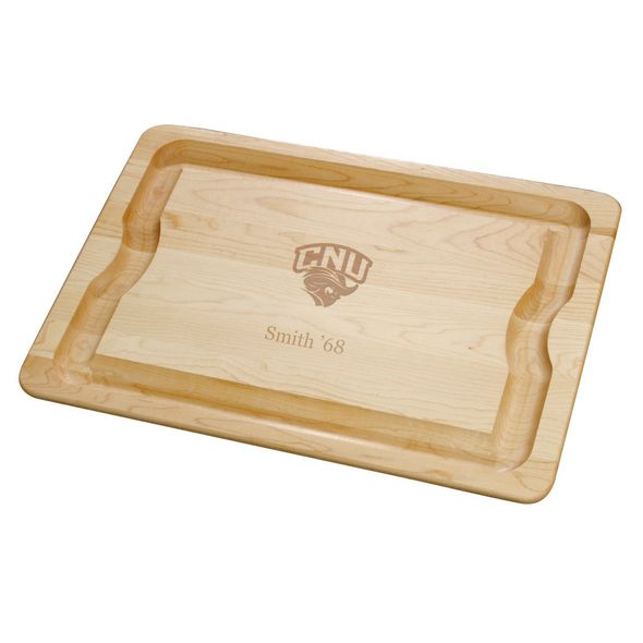 Christopher Newport University Maple Cutting Board