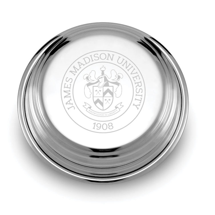 James Madison Pewter Paperweight