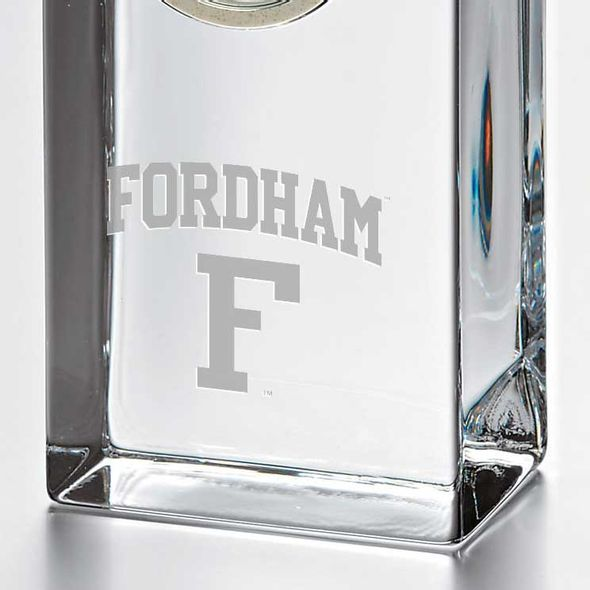 Fordham Tall Glass Desk Clock by Simon Pearce - Image 2