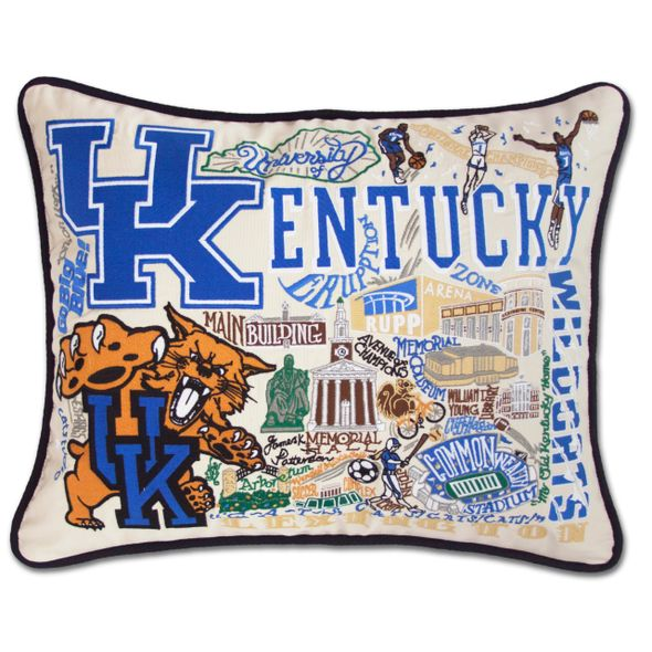 Kentucky Embroidered Pillow