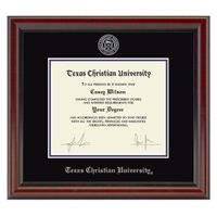 Texas Christian University Diploma Frame, the Fidelitas