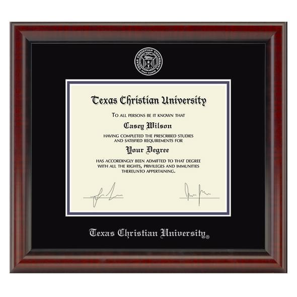 Texas Christian University Diploma Frame, the Fidelitas