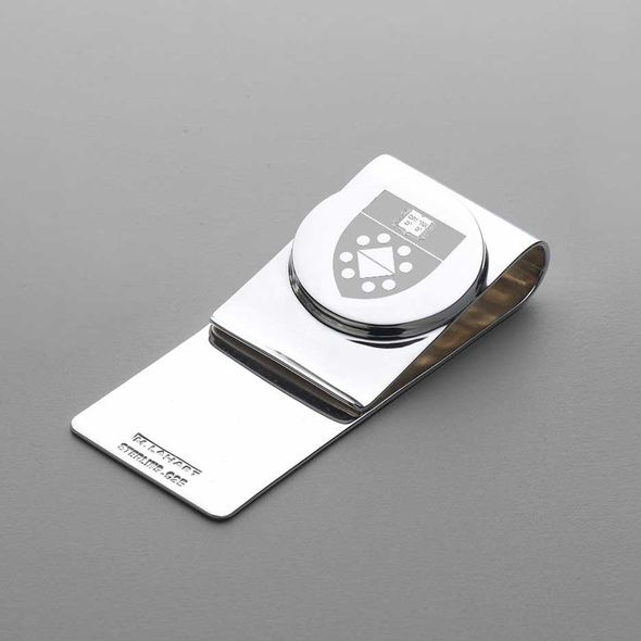 Yale SOM Sterling Silver Money Clip - Image 1