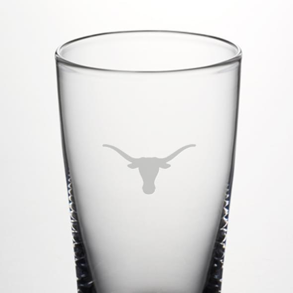 Texas Ascutney Pint Glass by Simon Pearce - Image 2