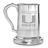Miami Pewter Stein