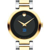 Duke University Women's Movado Two-Tone Modern Classic Museum with Bracelet