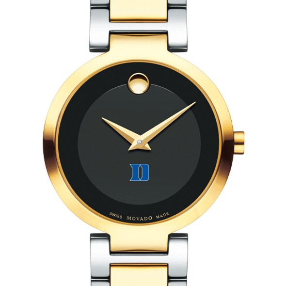 Duke University Women's Movado Two-Tone Modern Classic Museum with Bracelet - Image 1