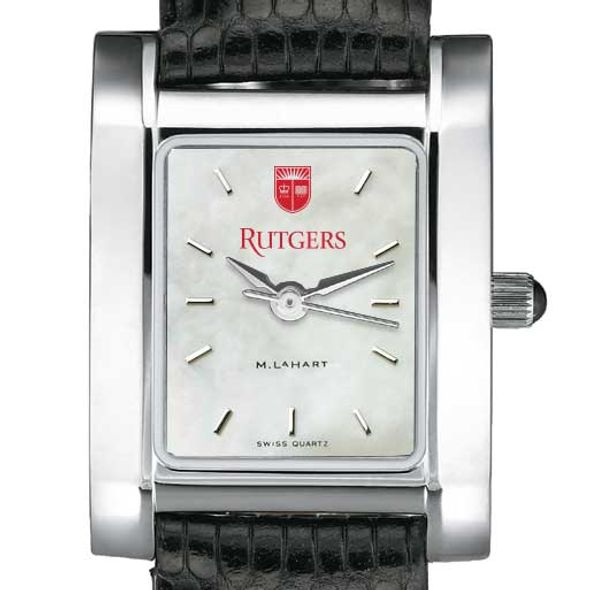 Rutgers University Women's MOP Quad with Leather Strap