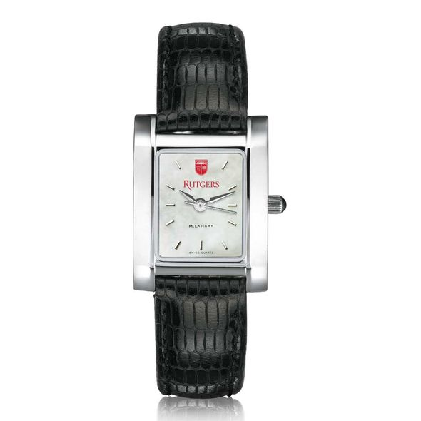 Rutgers University Women's MOP Quad with Leather Strap - Image 2