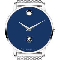 University of Vermont Men's Movado Museum with Blue Dial & Mesh Bracelet