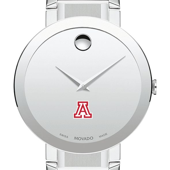 University of Arizona Men's Movado Sapphire Museum with Bracelet