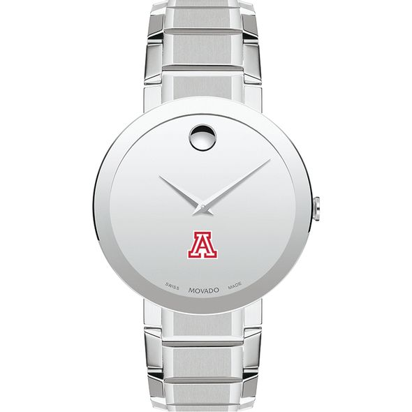 University of Arizona Men's Movado Sapphire Museum with Bracelet - Image 2