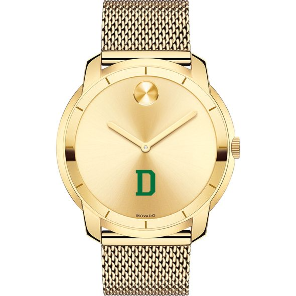 Dartmouth College Men's Movado Gold Bold 44 - Image 2