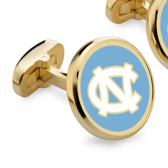 North Carolina Enamel Cufflinks - Image 2