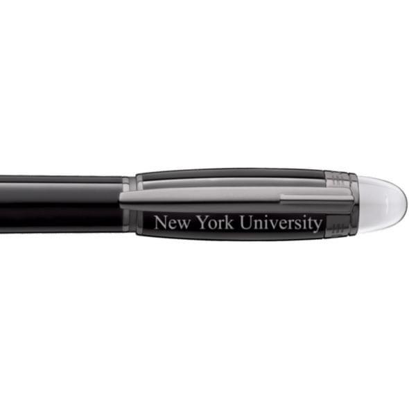 New York University Montblanc StarWalker Fineliner Pen in Ruthenium - Image 2