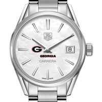 University of Georgia Women's TAG Heuer Steel Carrera with MOP Dial