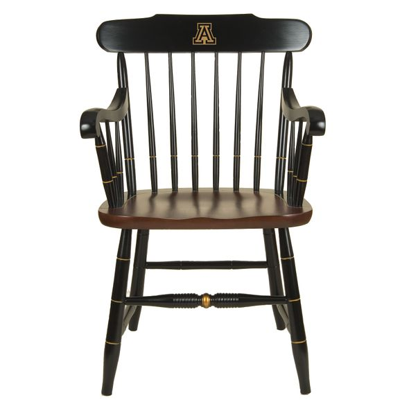 University of Arizona Captain's Chair by Hitchcock - Image 1