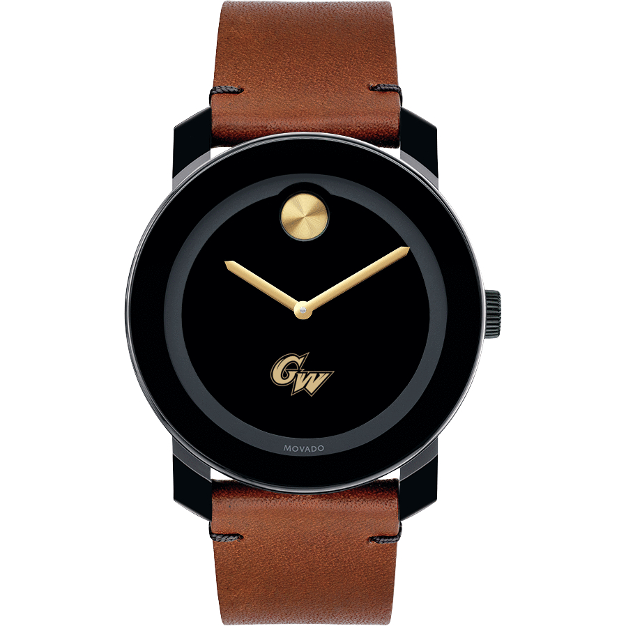 George Washington Men's Movado BOLD with Brown Leather Strap - Image 2