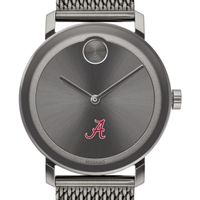 University of Alabama Men's Movado BOLD Gunmetal Grey with Mesh Bracelet