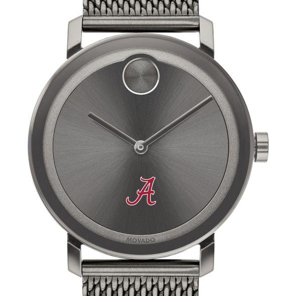 University of Alabama Men's Movado BOLD Gunmetal Grey with Mesh Bracelet