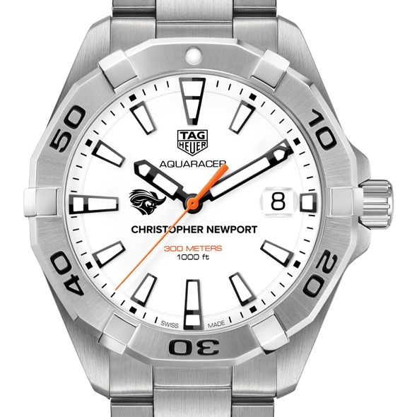 Christopher Newport University Men's TAG Heuer Steel Aquaracer