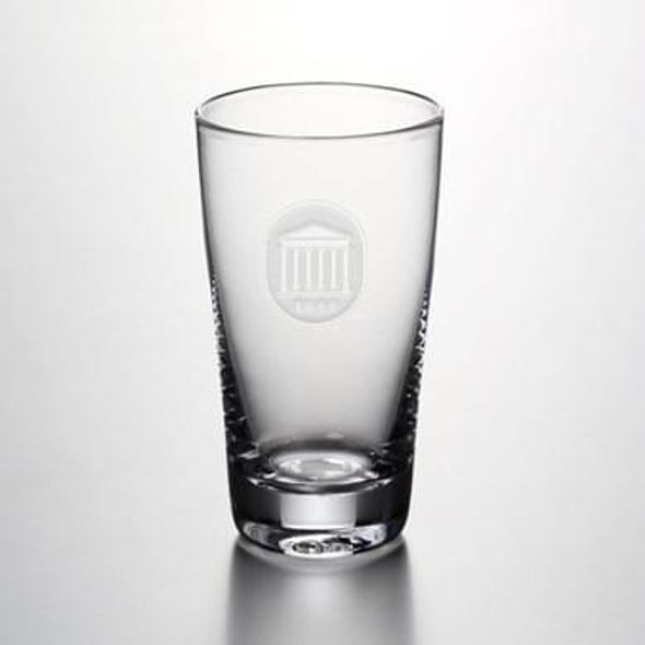 Ole Miss Pint Glass by Simon Pearce