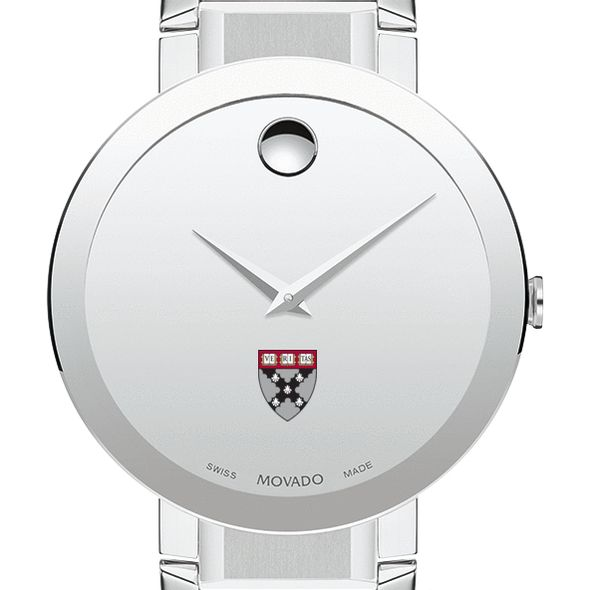 Harvard Business School Men's Movado Sapphire Museum with Bracelet - Image 1