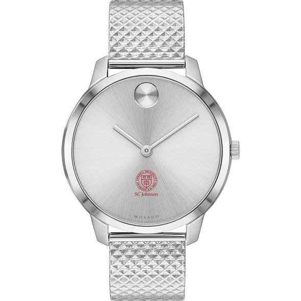 Cornell SC Johnson College of Business Women's Movado Stainless Bold 35 - Image 2
