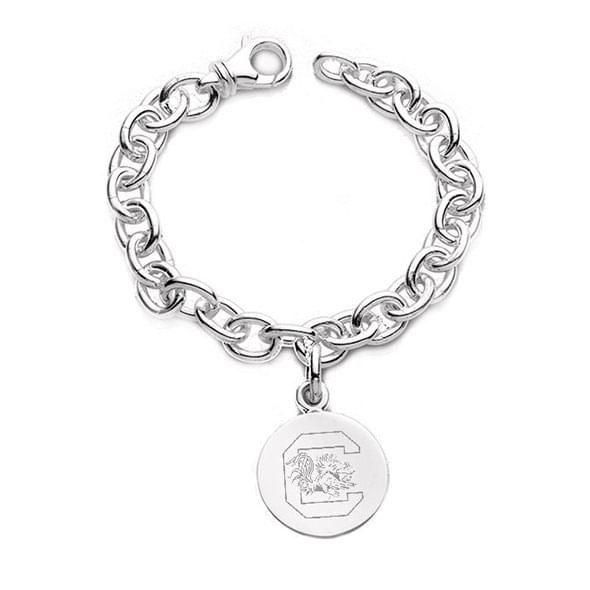 South Carolina Sterling Silver Charm Bracelet