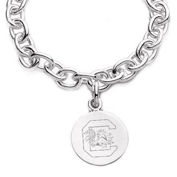 South Carolina Sterling Silver Charm Bracelet - Image 2