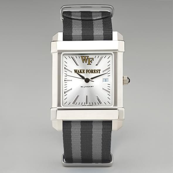 Wake Forest University Collegiate Watch with NATO Strap for Men - Image 2