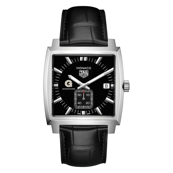 Georgetown University TAG Heuer Monaco with Quartz Movement for Men - Image 2