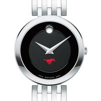 Southern Methodist University Women's Movado Esparanza Stainless Steel Museum with Bracelet