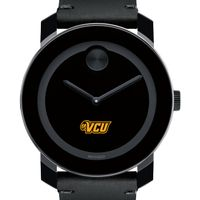 VCU Men's Movado BOLD with Leather Strap
