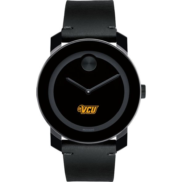 Virginia Commonwealth University Men's Movado BOLD with Leather Strap - Image 2