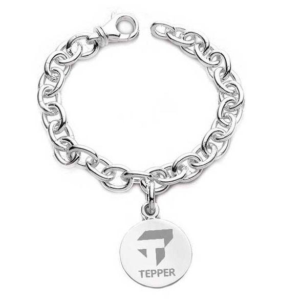 Tepper Sterling Silver Charm Bracelet - Image 1